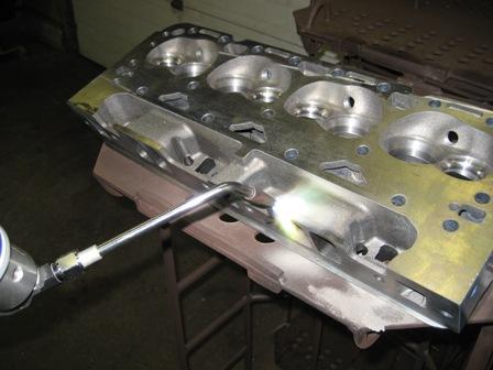 Cracked Engine Block >> Crack Repair Cylinder Head & Block Fusion Weld Crack Repair :MA,CT,RI,VT,NH,ME,NY,NJ