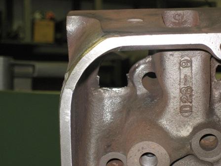 crack repair cylinder head block fusion weld crack repair mactrivtnhmenynj